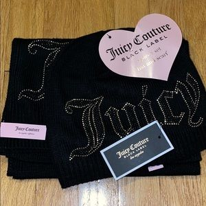 Juicy Couture Hat & Scarf set